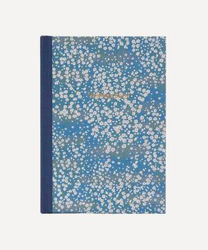 White Blossom Desk Address Book