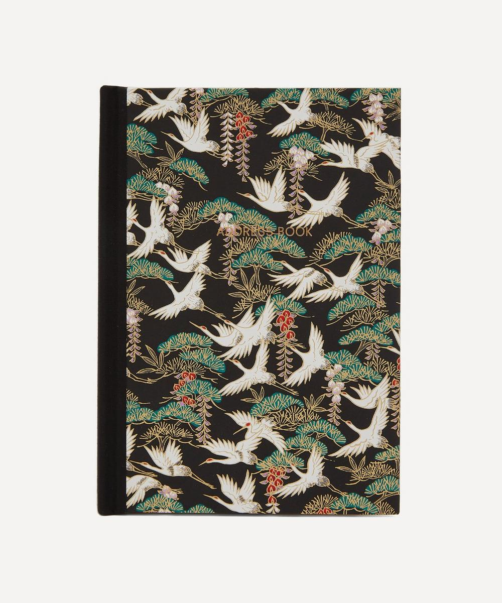 Esmie - Flying Cranes Desk Address Book