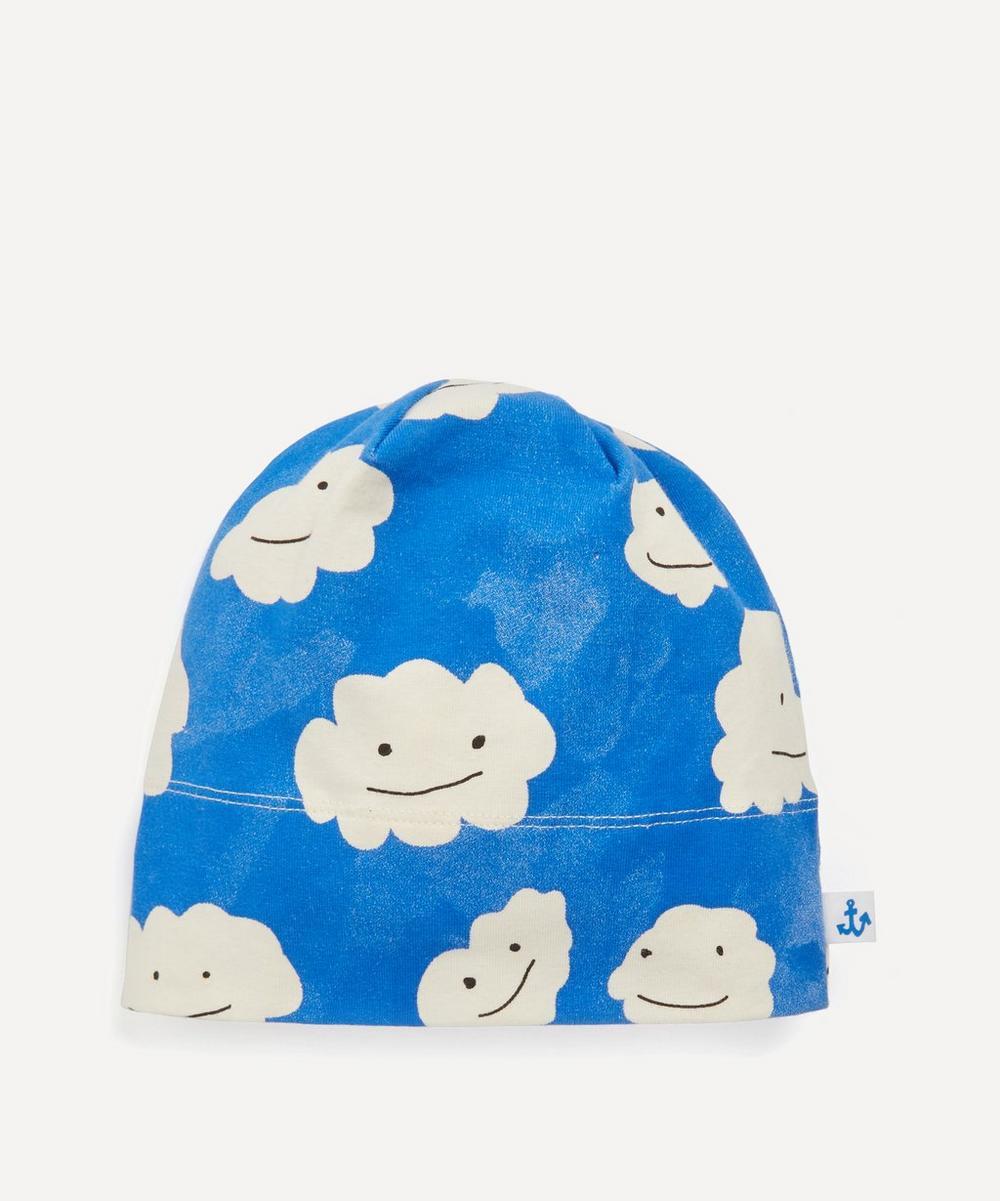 Noe & Zoe - Blue Clouds Print Beanie