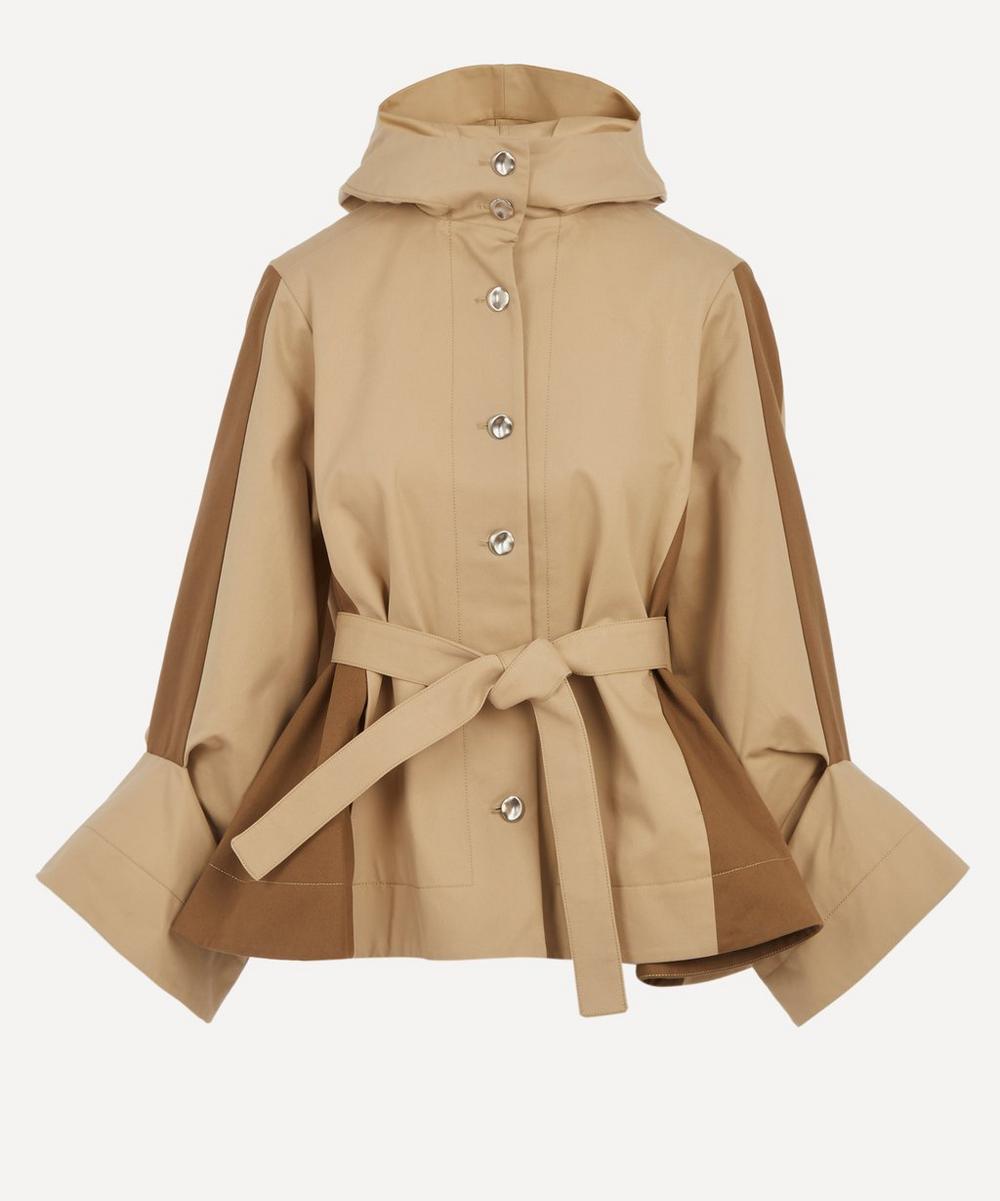 palmer//harding - Kast Hooded Cotton Belted Jacket