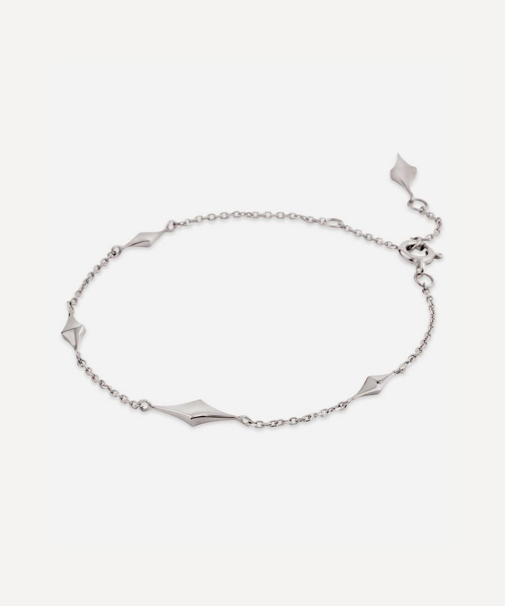 Dinny Hall - Silver Almaz Charm Bracelet