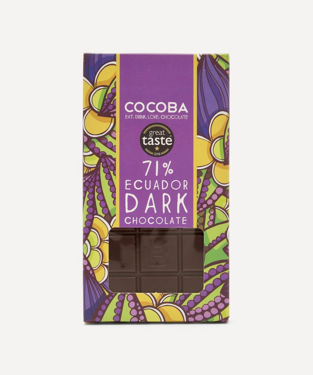 Cocoba Chocolate - 71% Dark Chocolate Bar 100g