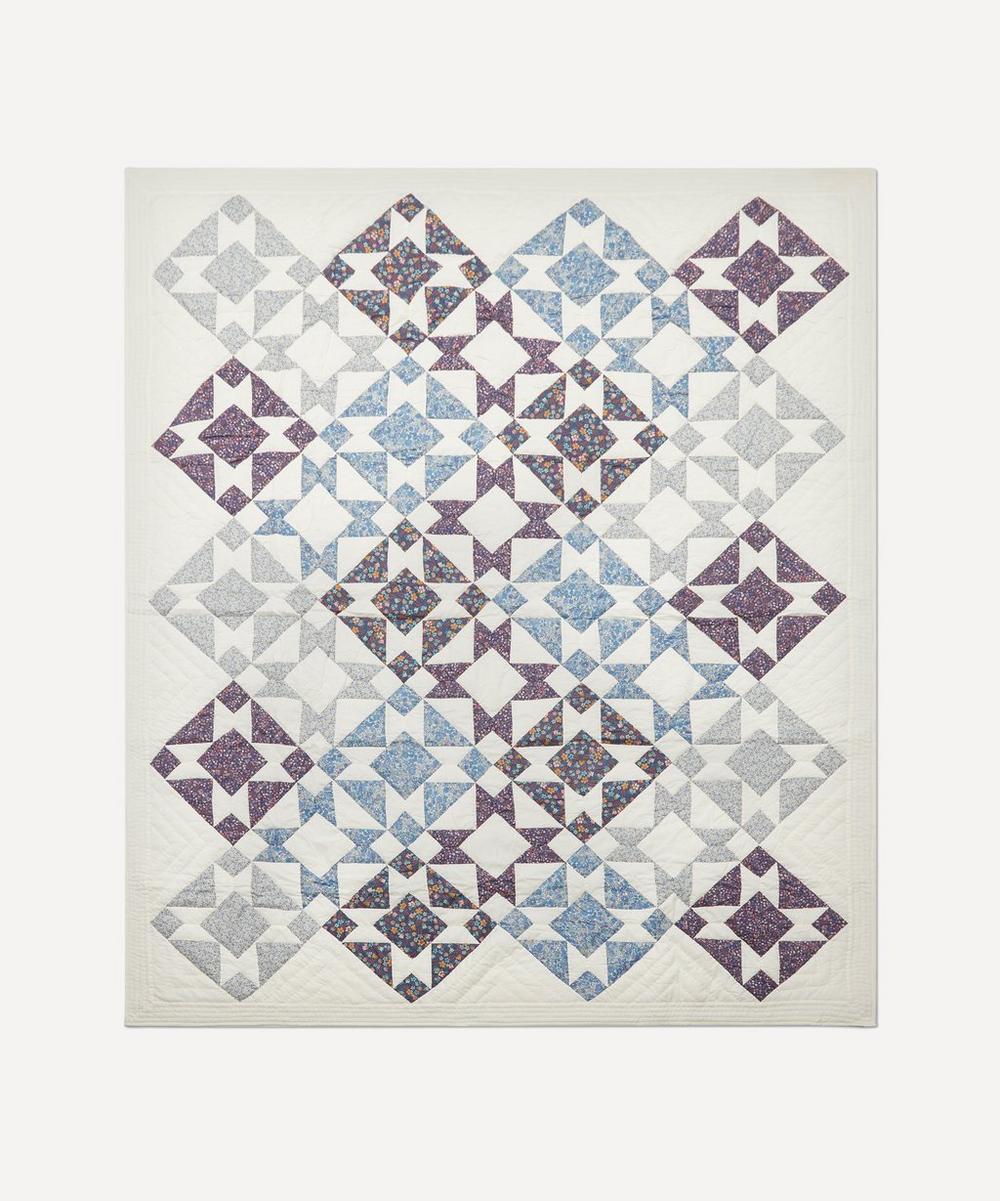 Projektityyny - Orvokki Patchwork Quilt
