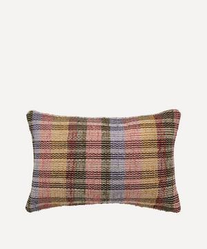 Ruutu Chindi Rectangular Cushion
