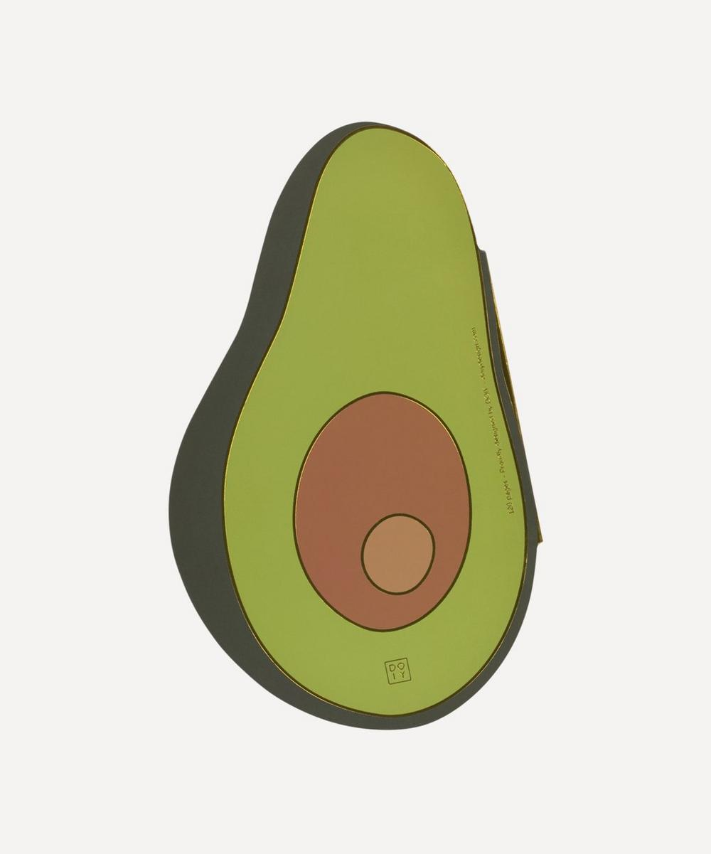 DOIY - Oversized Avocado Notebook
