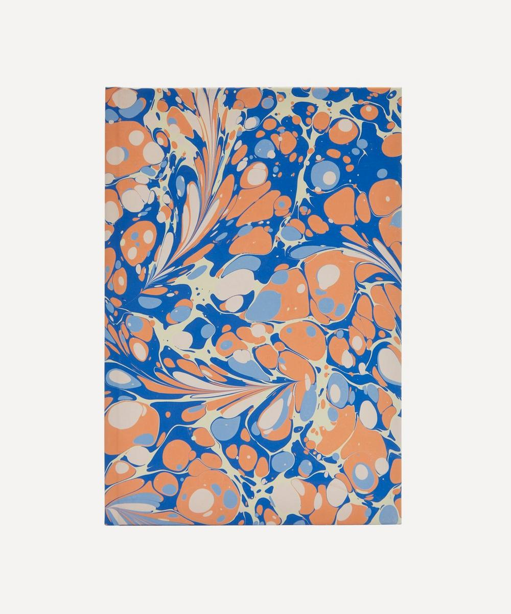 Paperwilds - A5 Lined Full Marbled Notebook