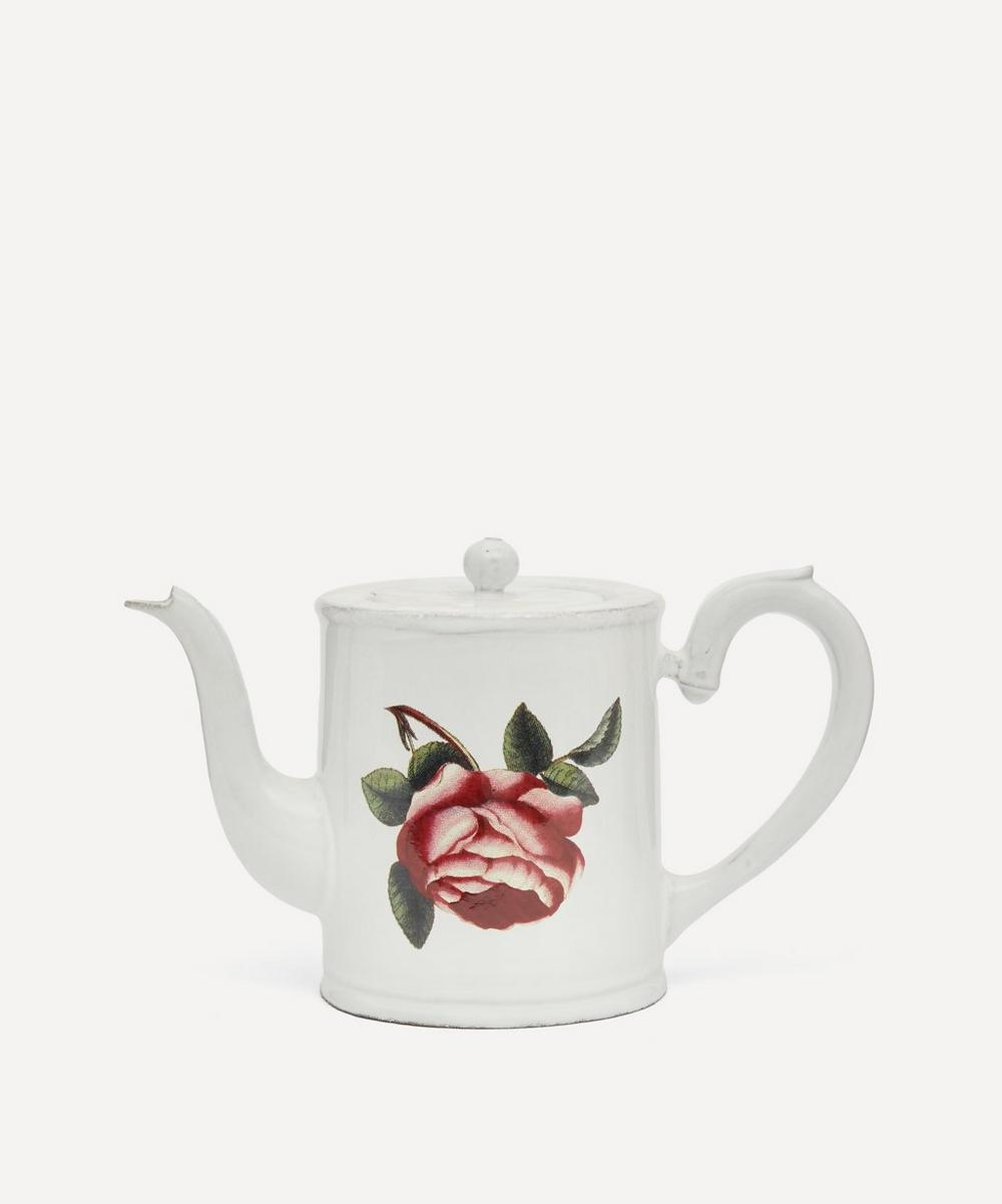 Astier de Villatte - Small Rosa Centilolia Teapot