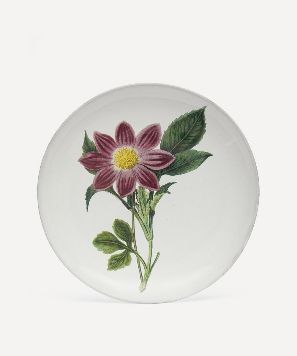 Astier de Villatte - Pink Flower Dinner Plate