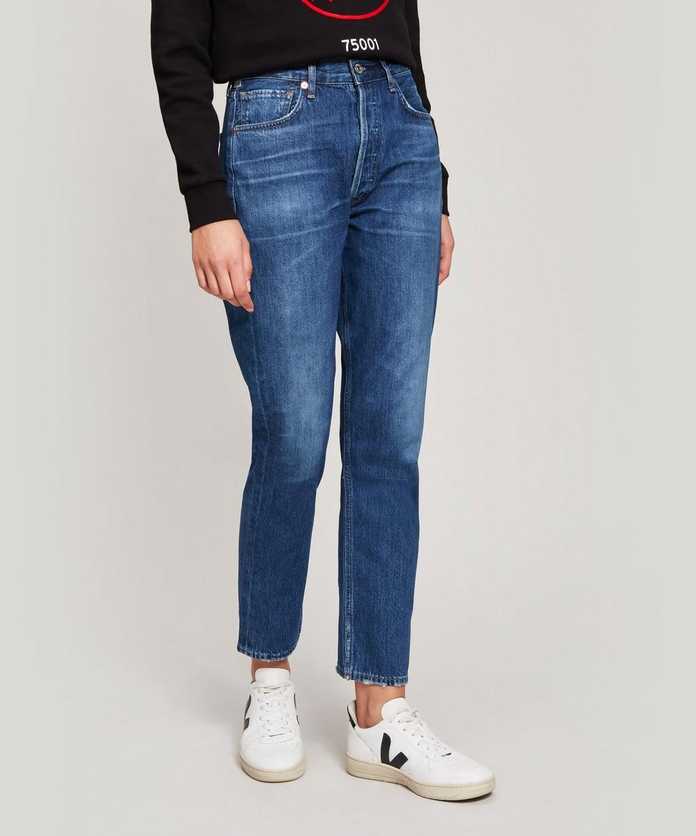 Citizens of Humanity - Charlotte High-Rise Straight Jeans