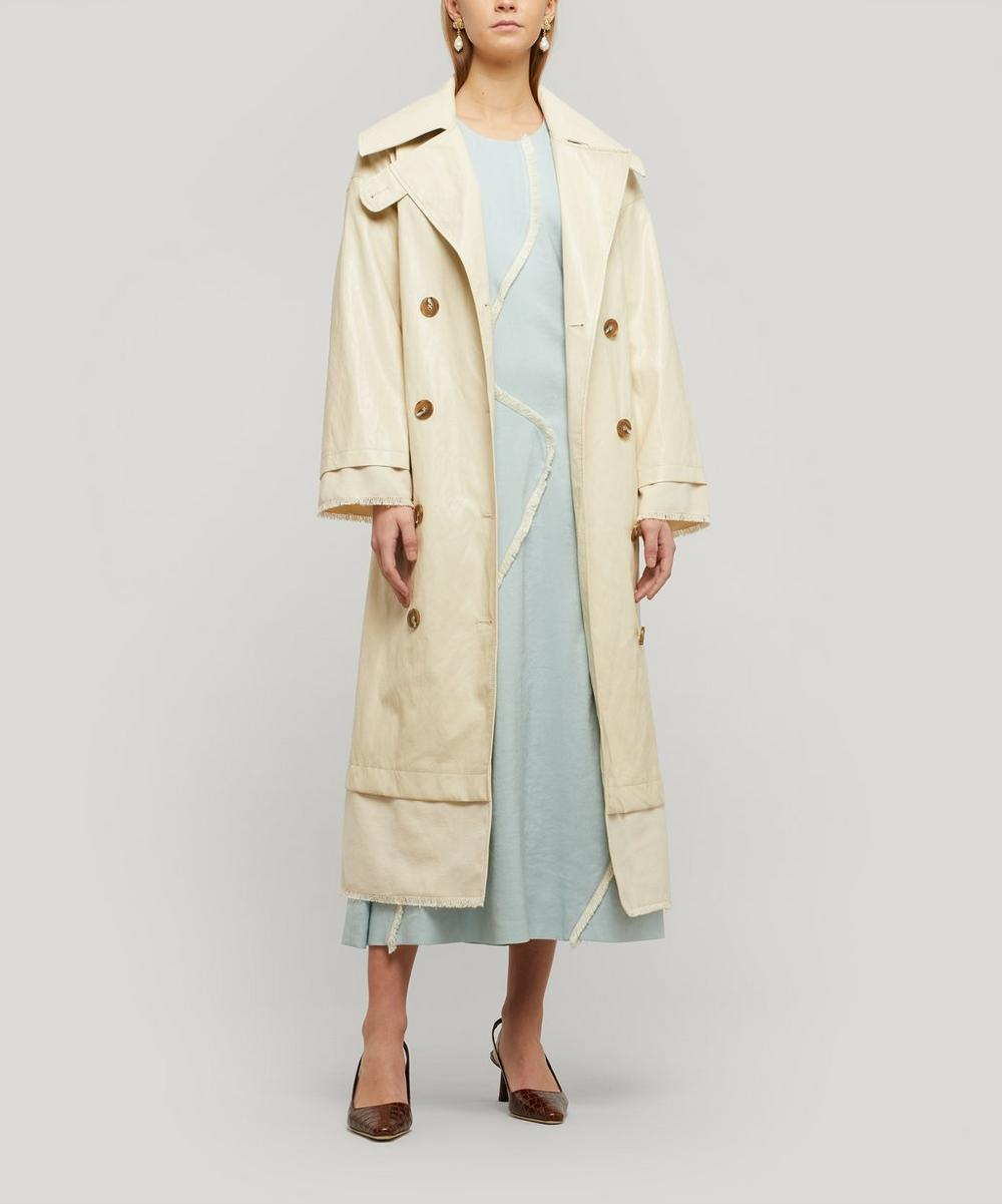Rejina Pyo - Gladys Faux Leather Trench Coat