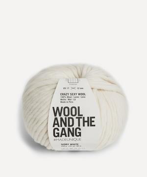 Crazy Sexy Wool Ivory White Yarn