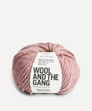 Crazy Sexy Wool Mellow Mauve Yarn