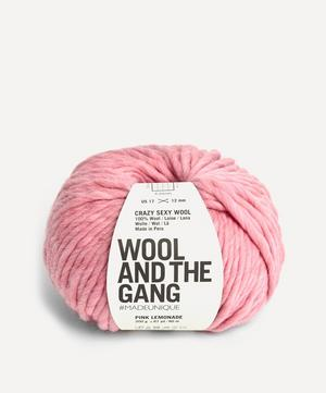 Crazy Sexy Wool Pink Lemonade Yarn