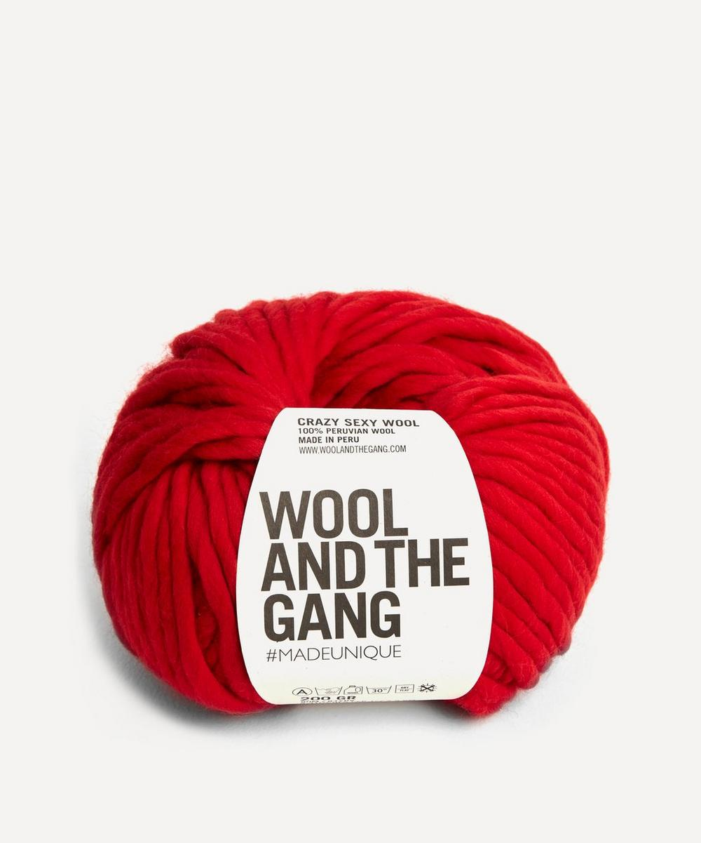 Wool and the Gang - Crazy Sexy Wool Lipstick Red Yarn