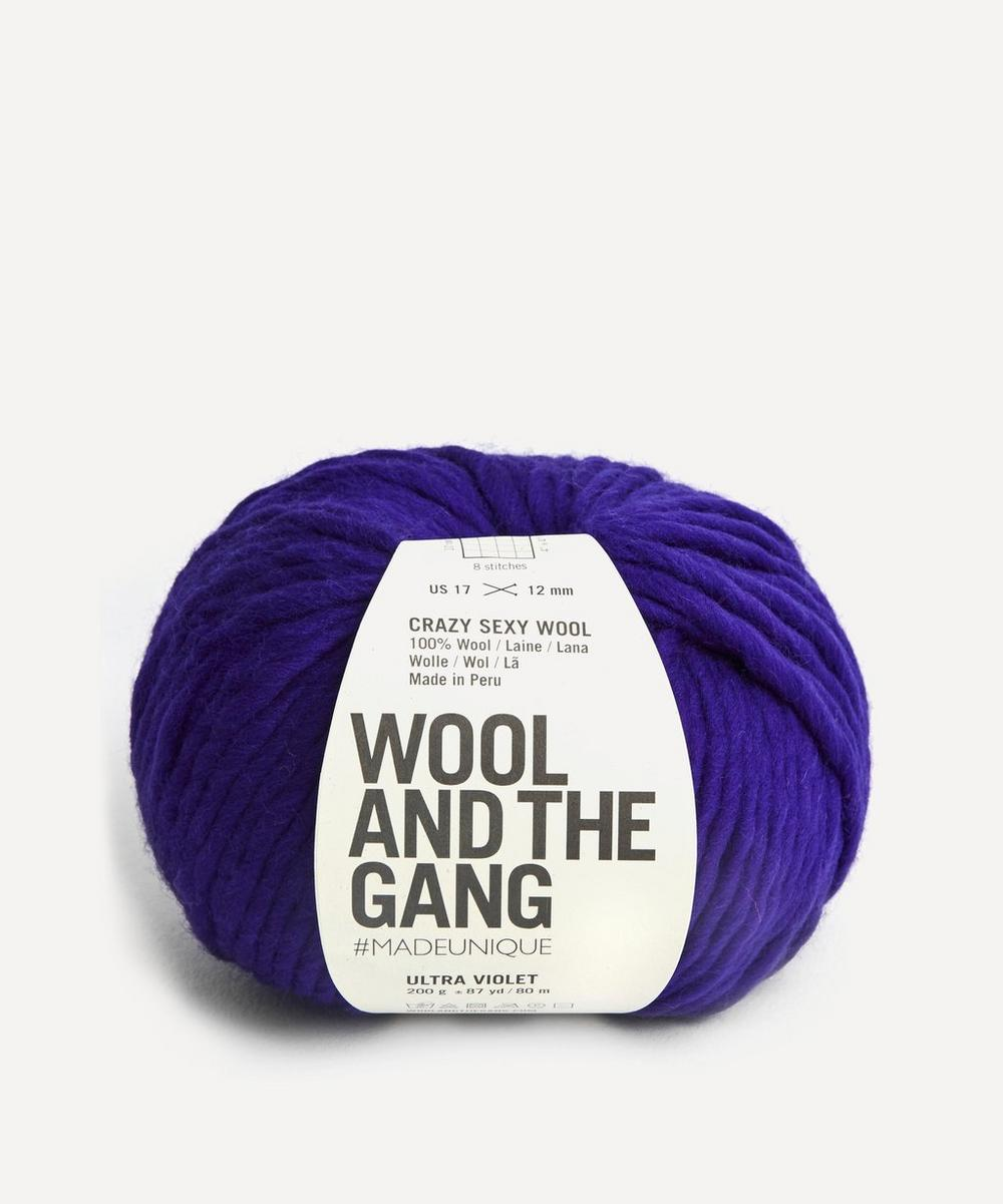 Wool and the Gang - Crazy Sexy Wool Ultra Violet Yarn