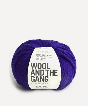 Crazy Sexy Wool Ultra Violet Yarn