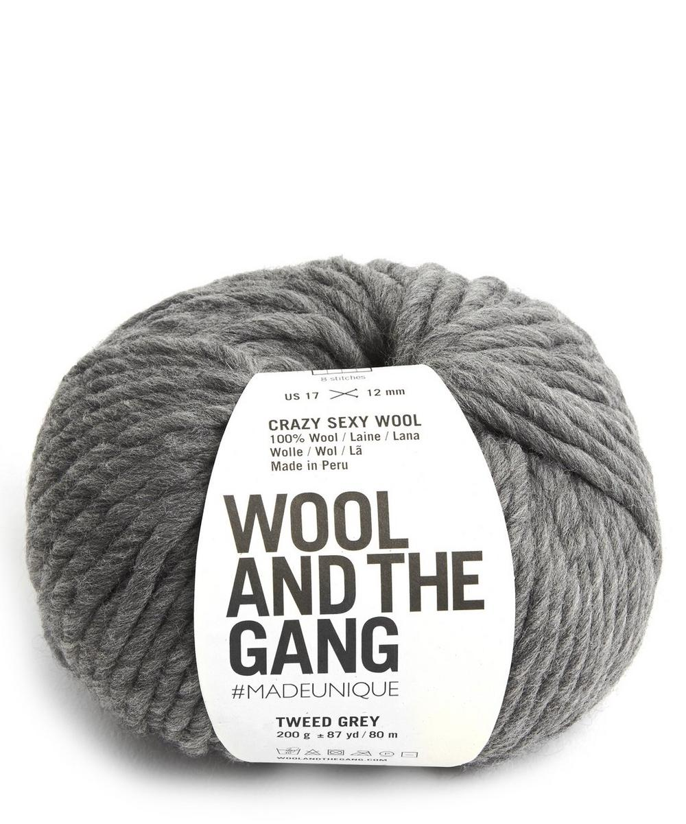Wool and the Gang - Crazy Sexy Wool Tweed Grey Yarn