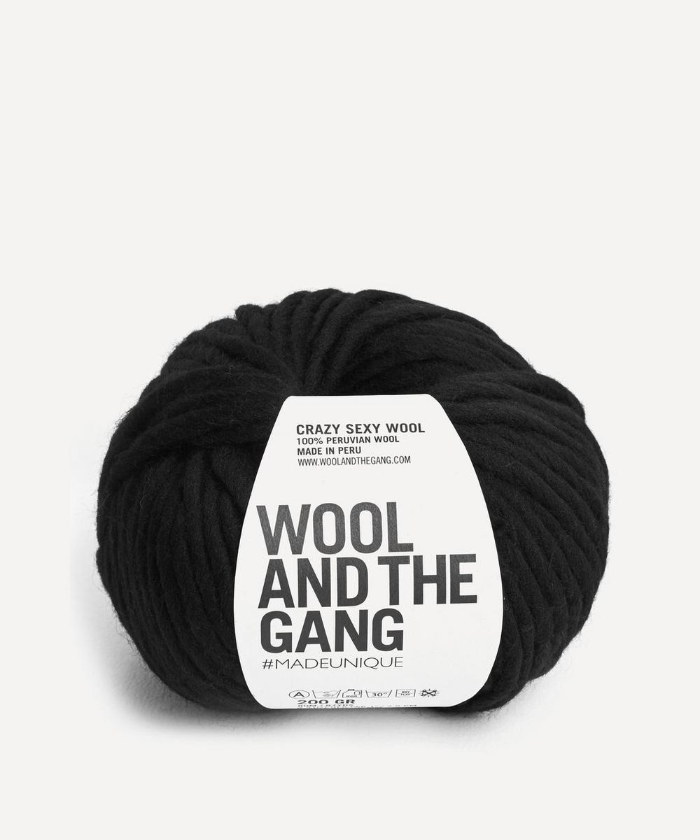 Wool and the Gang - Crazy Sexy Wool Space Black Yarn