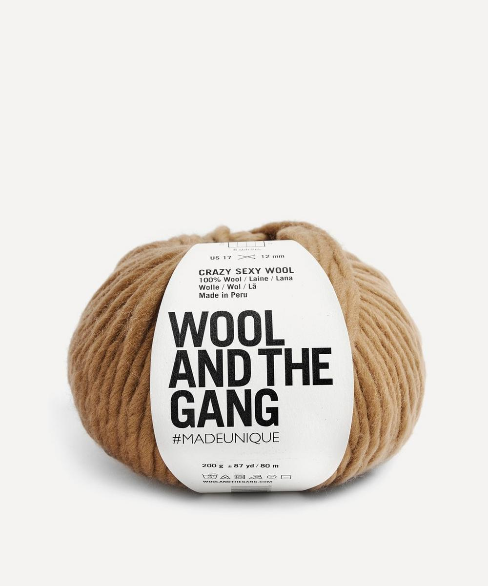 Wool and the Gang - Crazy Sexy Wool Brown Sugar Yarn