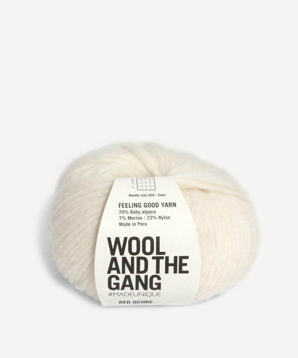 Wool and the Gang - Feeling Good Ivory White Yarn