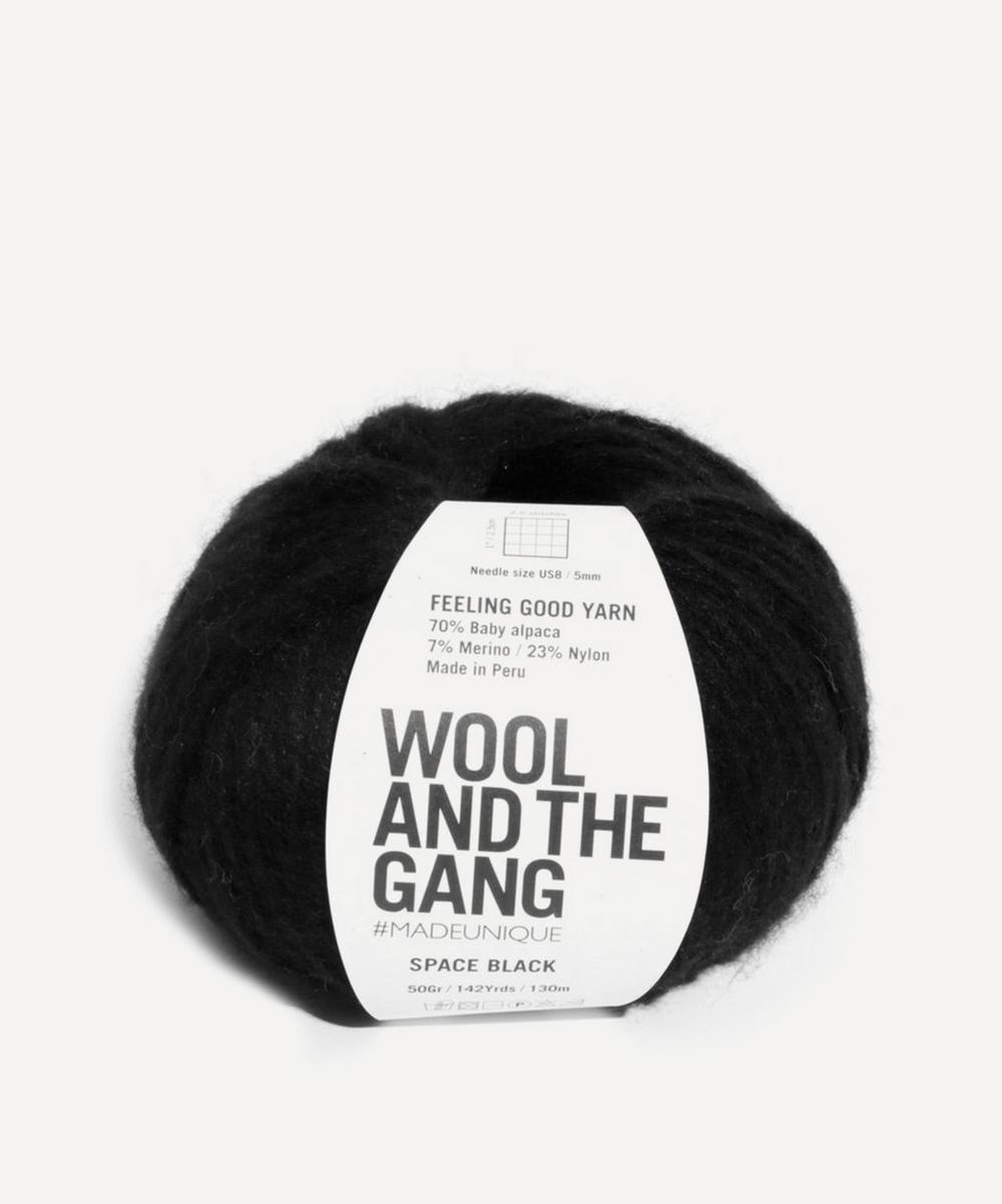 Wool and the Gang - Feeling Good Space Black Yarn