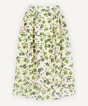 Wade Floral Midi-Skirt