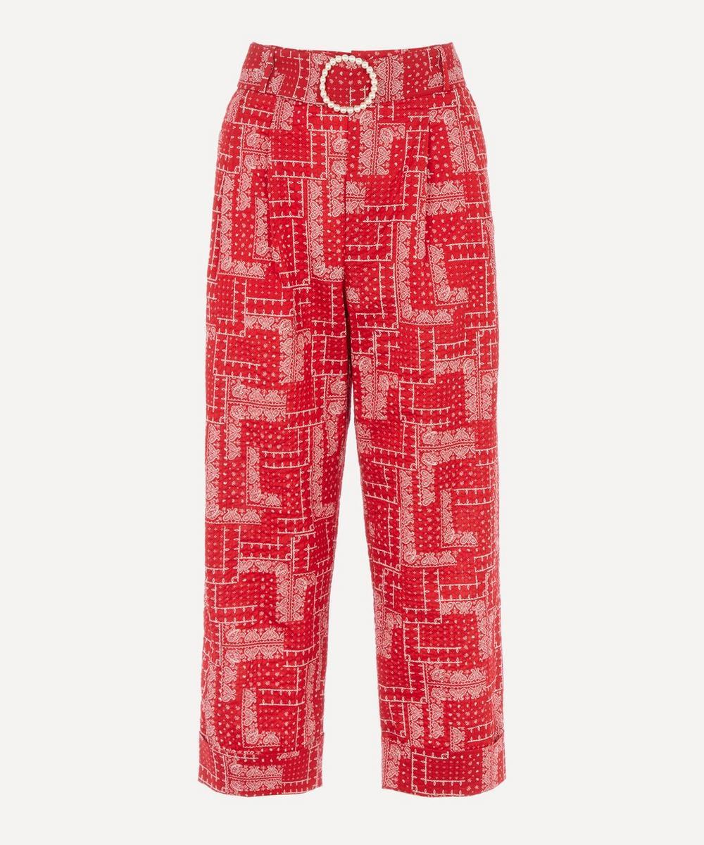 Shrimps - Houston Bandana Print Trousers