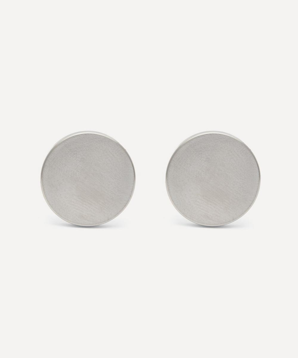 Alice Made This - Dot Brushed Stainless-Steel Cufflinks