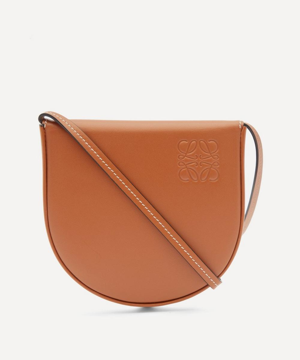 Loewe - Heel Pouch Leather Shoulder Bag
