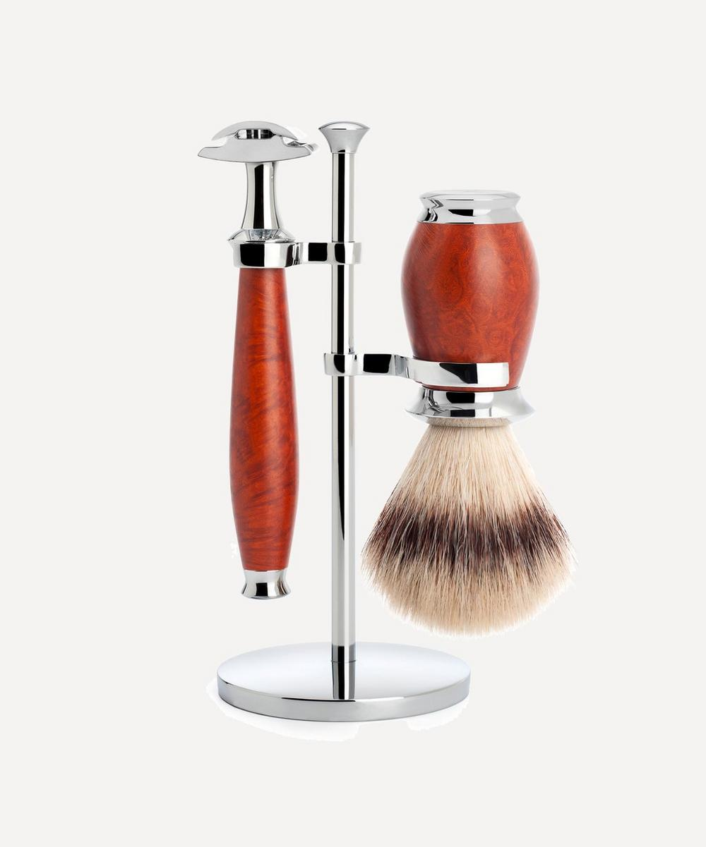 MÜHLE - PURIST Silvertip Fibre Three-Piece Shaving Set