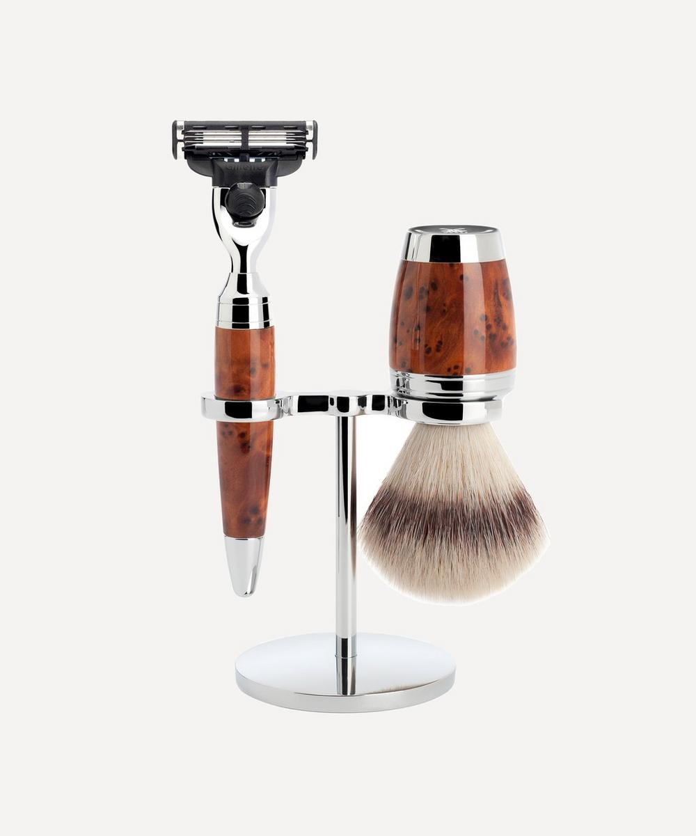 MÜHLE - STYLO Thuja Silvertip Shaving Set