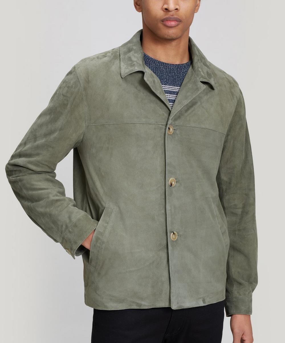 Éditions M.R - Safari Suede Leather Jacket