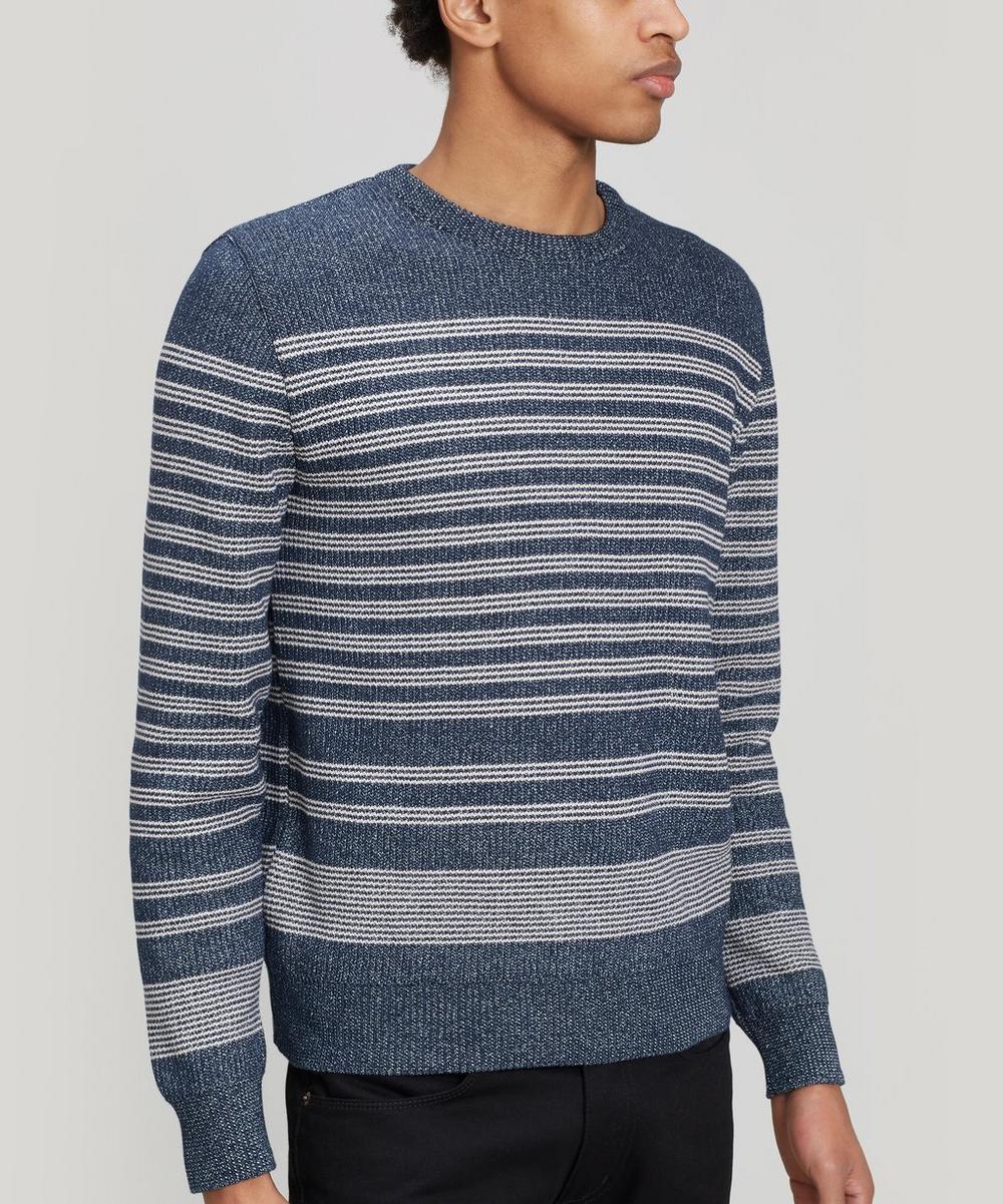 Éditions M.R - Portobello Cotton-Blend Striped Sweater
