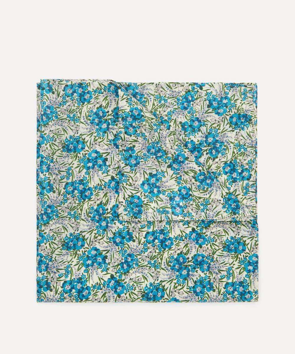 Liberty London - Small Swirling Petals Silk-Cotton Handkerchief