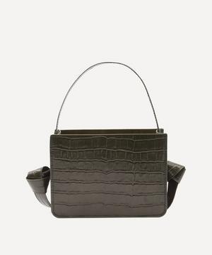 Guaria Mini Croc-Embossed Leather Handbag