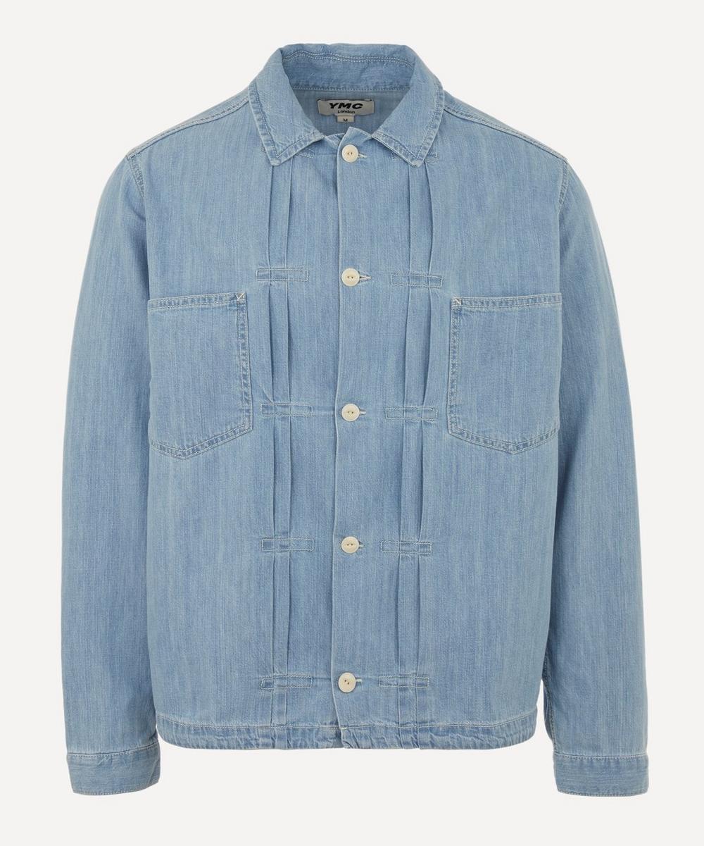 YMC - Kit Pleated Denim Overshirt