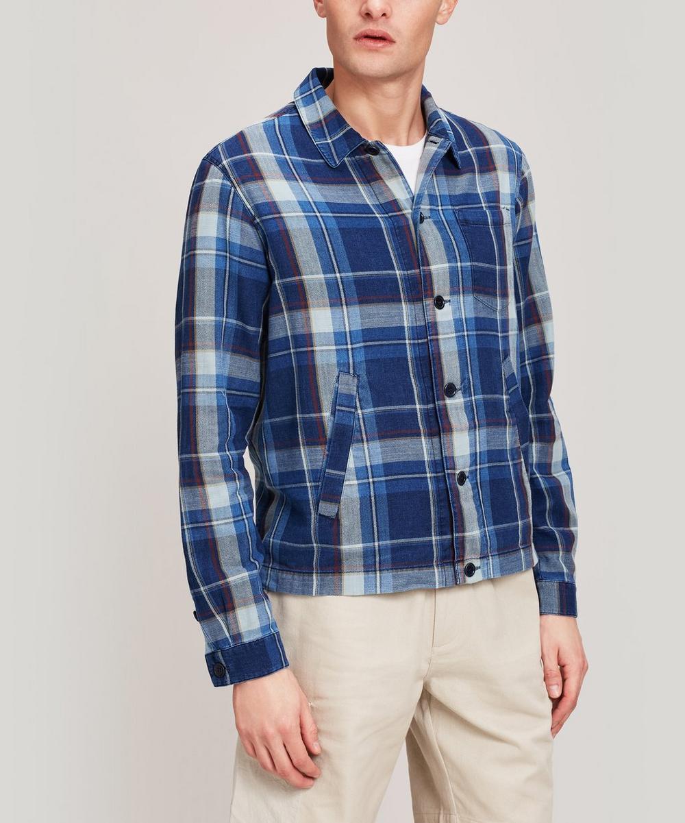 YMC - Patchwork Check Cotton Bowling Shirt