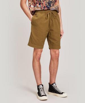 Jay Cotton-Linen Skate Shorts