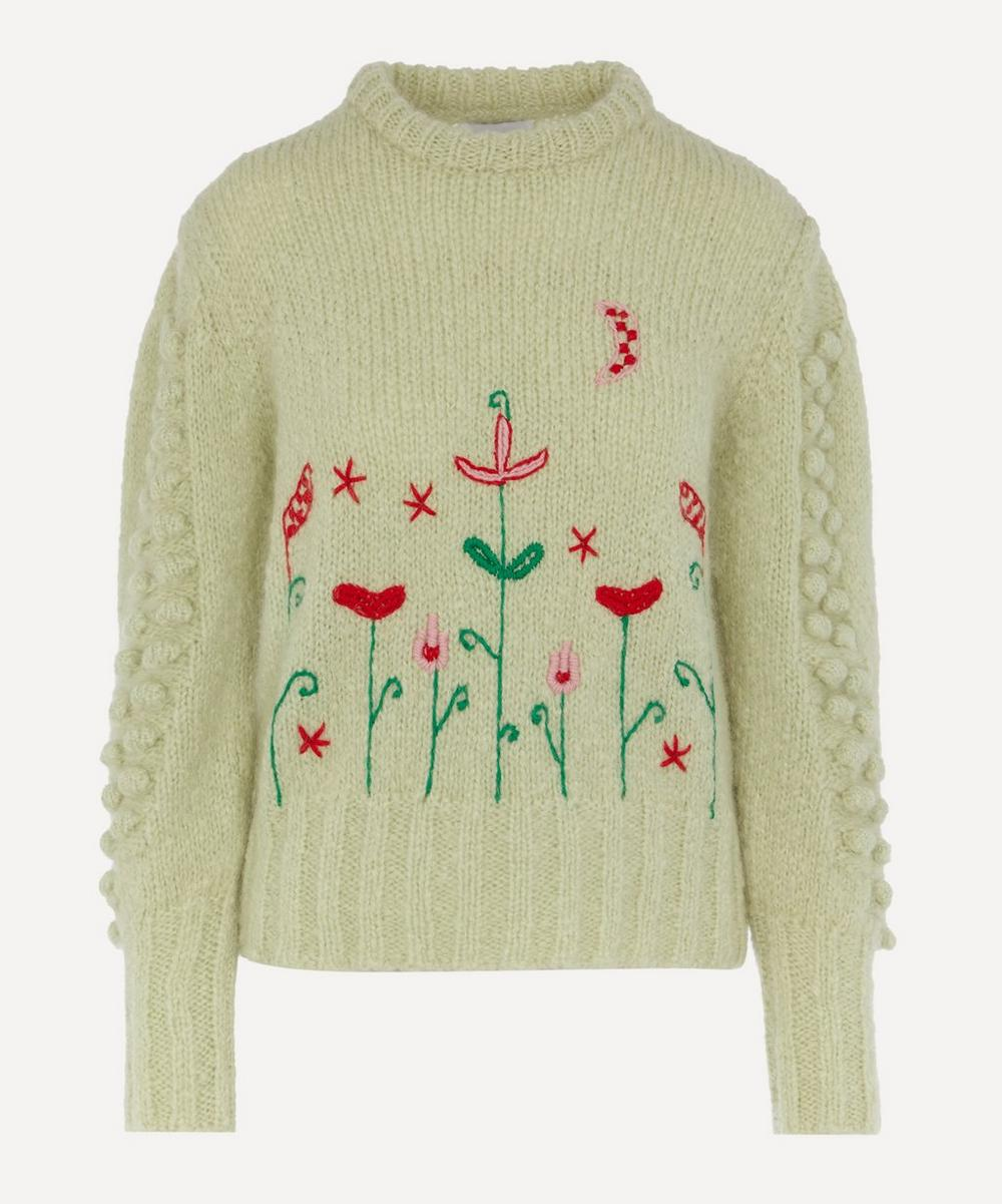 Hayley Menzies - Gloria Floral Embroidered Jumper