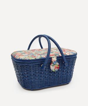 Thorpe Print Hamper Sewing Basket