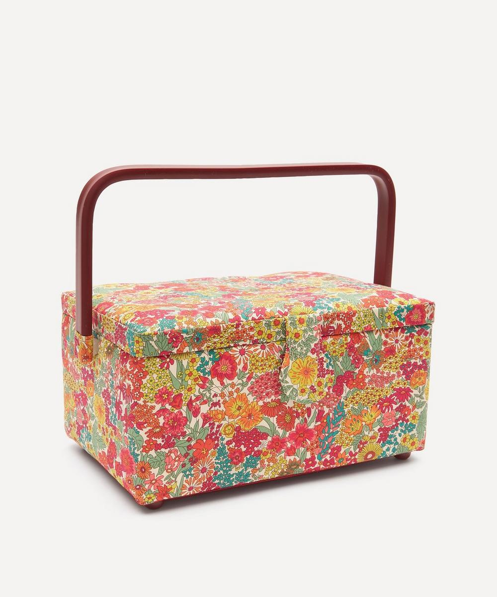 Liberty London - Margaret Annie Print Square Sewing Box