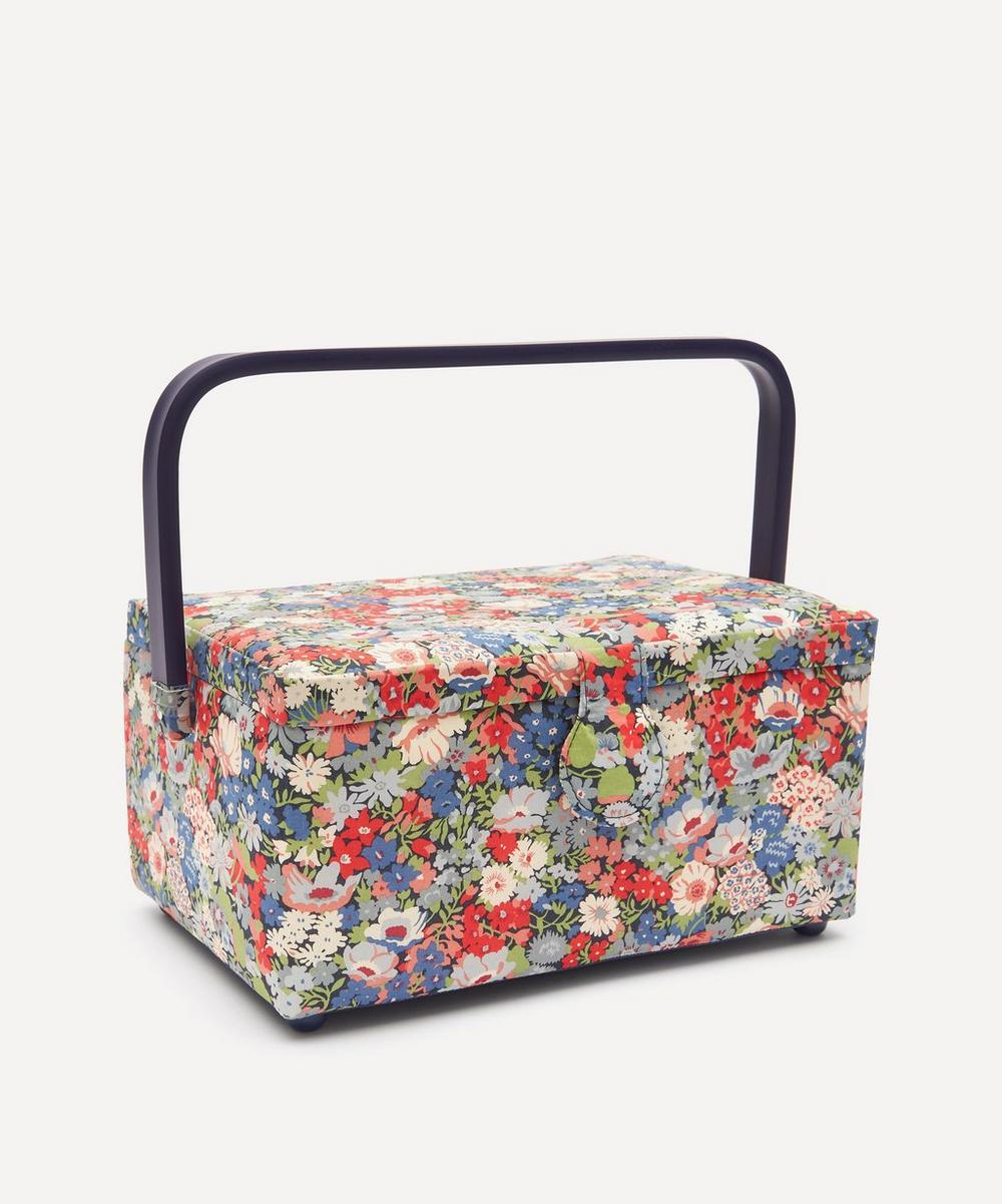 Liberty London - Thorpe Print Square Sewing Box