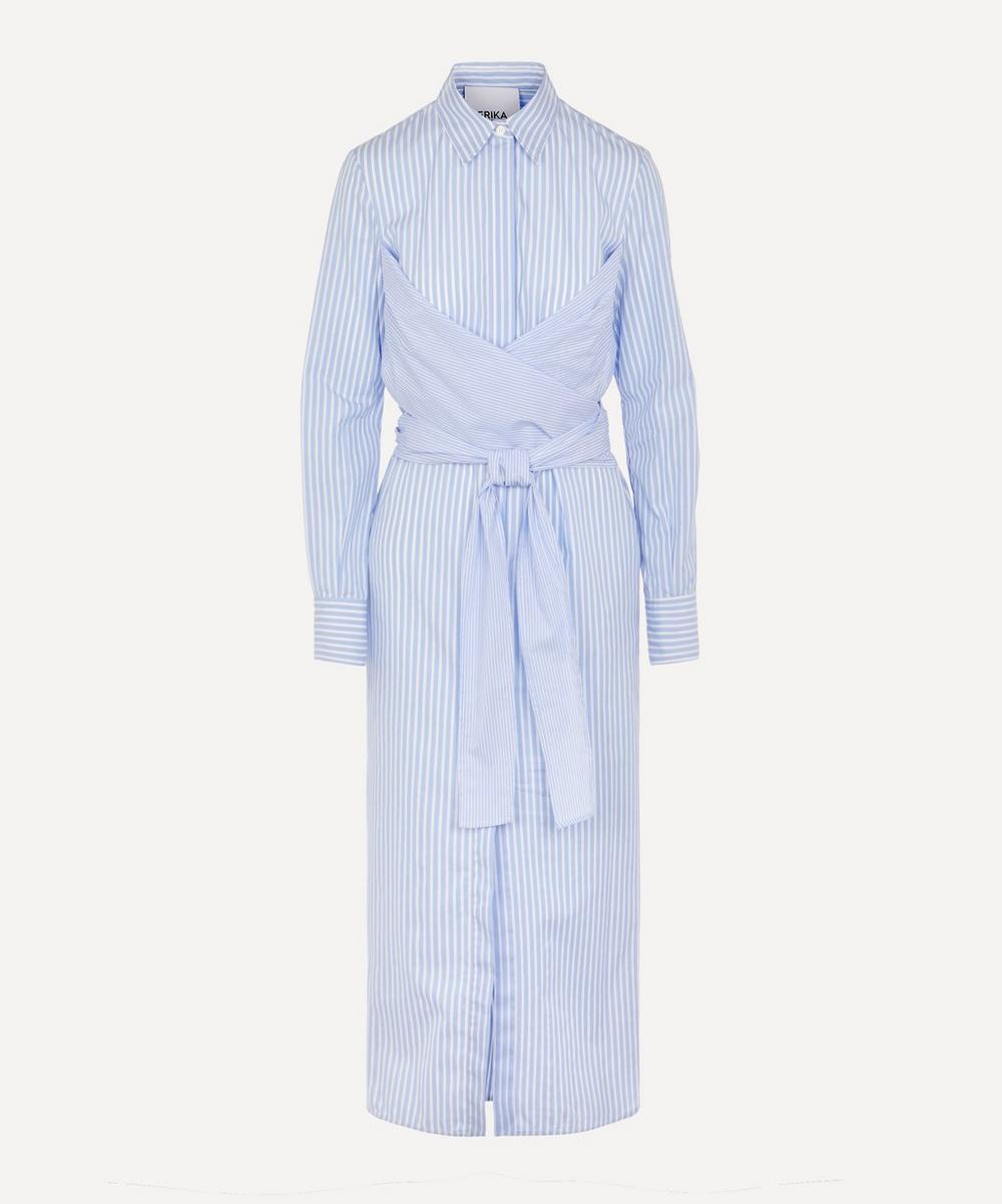 Erika Cavallini - Stripe Shirt Dress