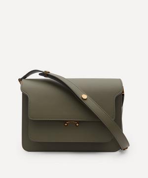 Noos Trunk Medium Leather Shoulder Bag