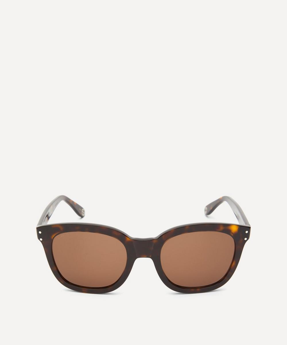 Gucci - Round Tortoiseshell Acetate Sunglasses