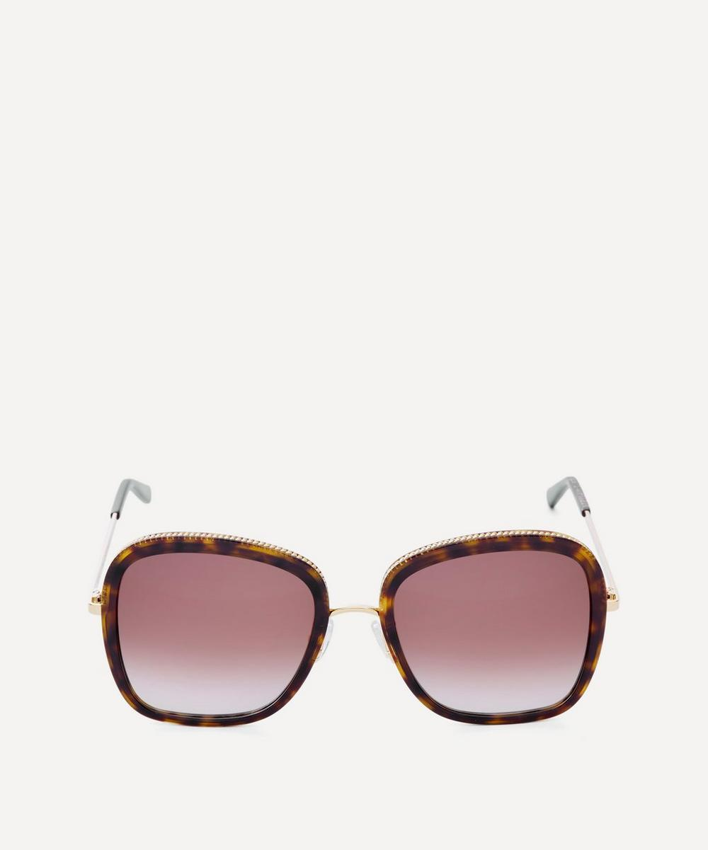 Stella McCartney - Oversized Metal and Bio-Acetate Sunglasses