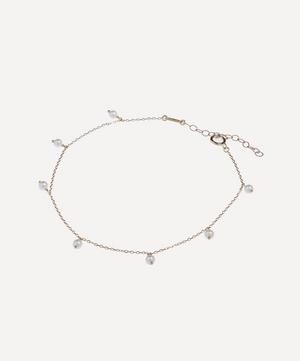 Gold Pearl Drop Anklet