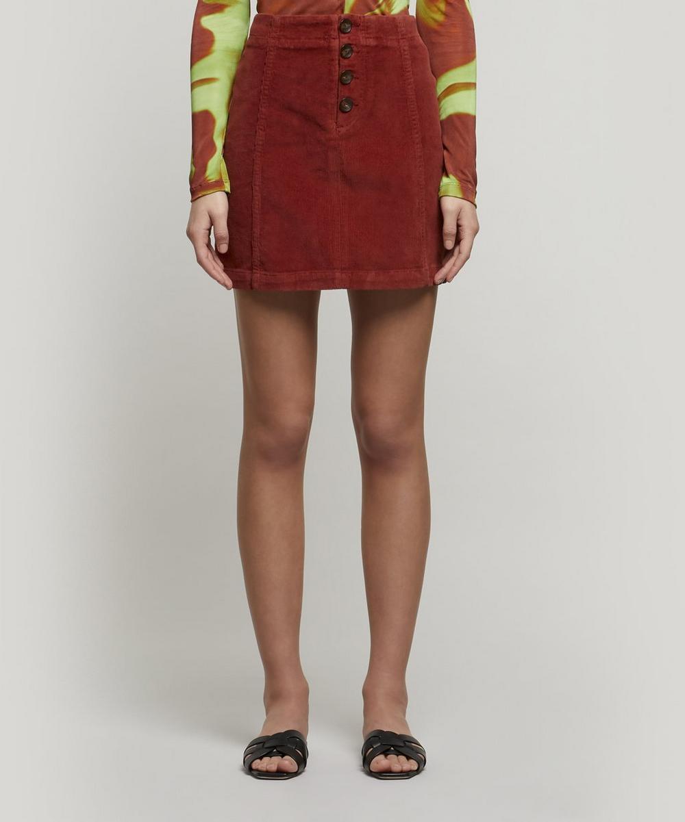 Paloma Wool - Disco Stretch-Cotton Corduroy Mini-Skirt