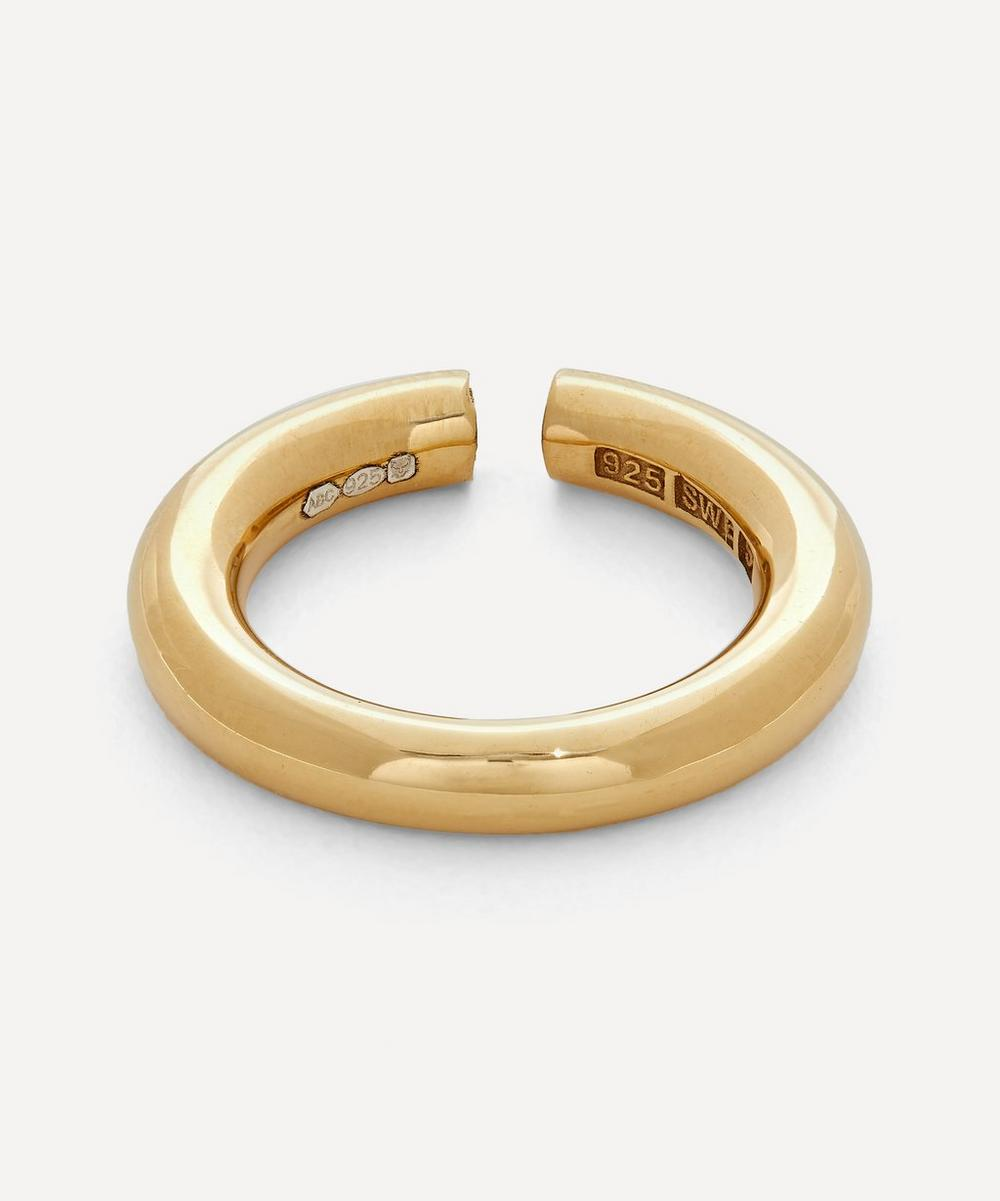 All Blues - Gold Plated Vermeil Silver Almost Ring