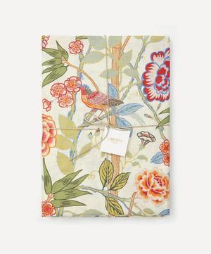 Bamboo Garden Linen Tablecloth